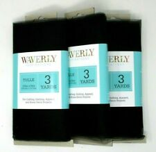 Black Tulle 9 yards x 54 inch wide Waverly Fabric Craft