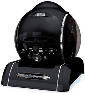 New SEGA TOYS Homestar Earth Theater Planetarium Hybrid Projector Black Japanese