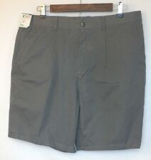 Jin Ping Guo Mens 4 Pocket Chino Shorts in Slate Gray Size 36 NEW WITH TAGS