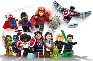 LEGO Minifiguren Marvel Studios 71031 - Alle 12 Figuren zum aussuchen - NEU