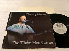"""Christy Moore """"The Time Has Come"""" 1986 Irish Folk LP, Nice EX!, Green Linnet"""