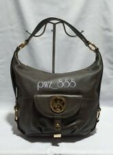 MICHAEL KORS Brown Leather Hobo Bag