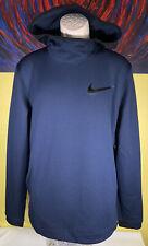 Men's Nike Therma Flex Showtime Pullover Hoodie Size Medium Navy AQ4214-419