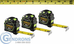 3 KOMELON 7125IE MAGNETIC TAPE MEASURE,10T, SURVEYING,ENGINEERING,TOPCON,TRIMBLE