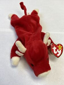 Snort the Red Bull Beanie Baby (Rare) Vintage 1995