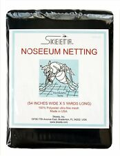 """Mosquito no-see-um netting/net 54"""" wide x 5 yards long, color slate, by Skeeta"""