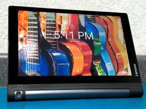 "Lenovo Yoga Tab 3 10.1"" (YT3-X50F) - 16GB, Wi-Fi, Android 6.0, Black - B Grade"
