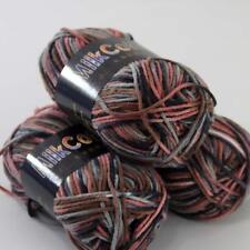 3 Balls x50g New Soft Colorful Children Cotton Hand dyed Wool Scarf Yarn Knit 23