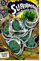 Superman The Man of Steel #18 1st full app of Doomsday DC 1992