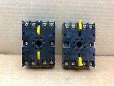 P2CF-08 Omron 8-Pin DIN Rail Mount Timer Counter Relay Socket P2CF08