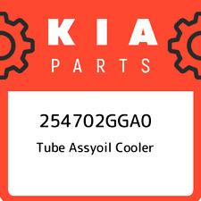 254702GGA0 Kia Tube assyoil cooler 254702GGA0, New Genuine OEM Part