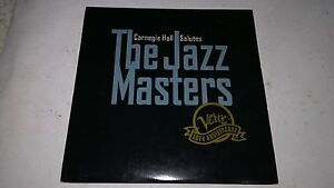 CARNEGIE HALL SALUTES THE JAZZ MASTERS LASER DISC LD