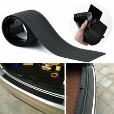 Car Rear Bumper Guard Protector Sill Rubber Plate Cover Pad Black Accessories US