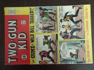 TWO-GUN KID 63 1963 CLASSIC EARLY JACK KIRBY AND STAN LEE TALE