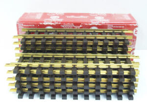 "LGB 1000 G Scale 12"" Inch Straight Track (Pack of 12) EX/Box"