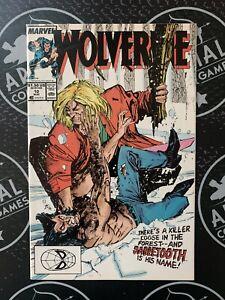 WOLVERINE #10 1989 Uncanny X-Men Key 1st Wolvie vs Sabretooth Battle!