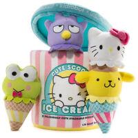 Kidrobot Sanrio Cute Scoops 10 Inch Plush Ice Cream NEW IN STOCK