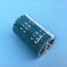 Nichicon  470uF 450v  35x50mm electrolytic Capacitor 105C , 310