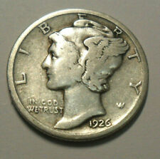 1926 S Mercury Dime *90% Silver* *Vg - Very Good* *Free Shipping*