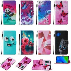 For Various mobile phones Magnetic Leather Card Slot Stand Soft Case Cover