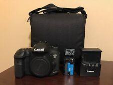 Used Canon EOS 7D Mark II 20.2MP Digital SLR Camera Body & Bag #119