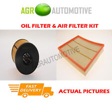 DIESEL SERVICE KIT OIL AIR FILTER FOR VAUXHALL MOVANO 2.5 114 BHP 2002-03