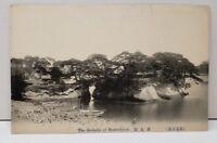 Japan The Godaido of Matsushima Early Photo Postcard C5