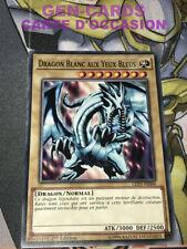 Occasion Carte Yu Gi Oh DRAGON BLANC AUX YEUX BLEUS LED3-FR006 1ère édition