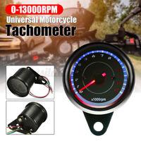 Universale LED 13000 Rpm Digitale Moto Contachilometri Tachimetro Contagiri ATV