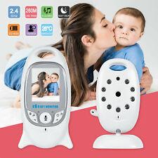 Wireless Baby Monitor Digital Video Audio Camera Two-Way Talk Night Vision UK