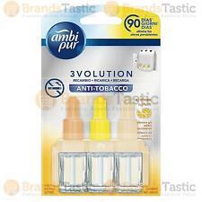 1 X Ambi Pur 3 volution Ambientador Eléctrico Enchufe en Recarga anti tabaco