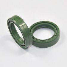 35x48x11mm Motorcycle Suspension Seals Green Front Fork Oil Seal Set