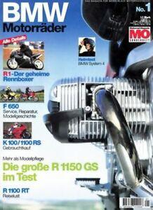 MO BMW Motorräder Nr. 01 + R 1150 GS + K 1200 LT + Sonderheft 1999 Erstausgabe