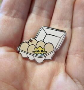 Togepi Pin Brooch Badge~Hard Enamel~Backpack Purse Bag