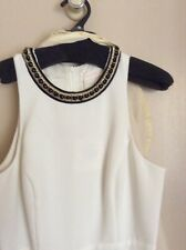 SASS & BIDE jumpsuit size 10 S Cream colour, new with tags.