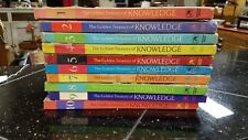 "1961 Children's ""The Golden Treasury of Knowledge"" Vols. 1 - 10  HARDCOVER SET"