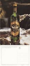 GLENFIDDICH WHISKY DISTILLERY ADVERTISING UNUSED COLOUR POSTCARD