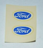 Vintage 1960's Baldwin Specialty Ford Decals Pair Slot Car 1/24 1/32 Vtg Decal