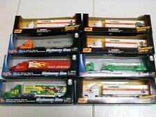 Lot of 8 Asst. MAISTO TRANSPORT & HIGHWAY HAULER Die Cast Toy Trucks NEW SEALED