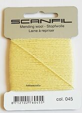 15 Metres SCANFIL BROWN 100/% COTTON Thread for Hand Sewing Darning /& Mending