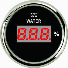 52mm Black Digital Water level gauge PEW2-BS-0-190 (800-00208) 0-190ohm signal