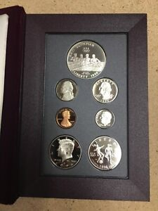1996-S Prestige Atlanta Olympic Coin Set with Box & COA Uncirculated US currency