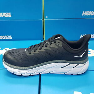NEW Hoka One One 1110535/BWHT CLIFTON 7 WIDE (D) Black/White For Women's