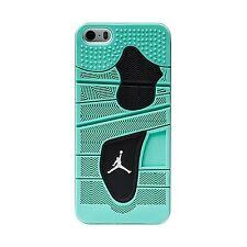 "Jordan Retro 4 ""Green Glow"" Apple iPhone 5 / 5S Case White"