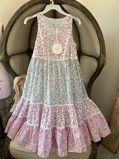 LoveShackFancy for Target CAMILLE Babydoll Prairie Dress Size XXS NWT Cotton