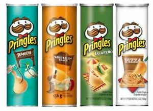Pringles 5.5oz - Pack of 3 (Choose your flavours) - USA Import