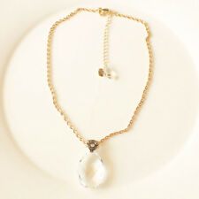 """New 16"""" Anne Klein Tear Pendant Necklace Gift Fashion Lady Party Wedding Jewelry"""