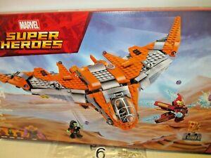 674 pcs Thanos Ultimate Battle #76107 (MWB) Marvel Super Heroes (2018) Lego