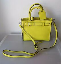 Authentic REED by REED KRAKOFF Yellow Satchel Crossbody Bag Purse NEW NWT