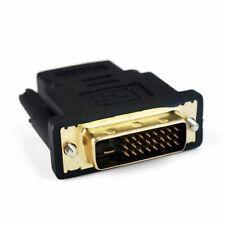 HDMI FEMALE TO DVI-D (24+1) MALE SOCKET ADAPTOR ADAPTER CONVERTER JOINER UKED